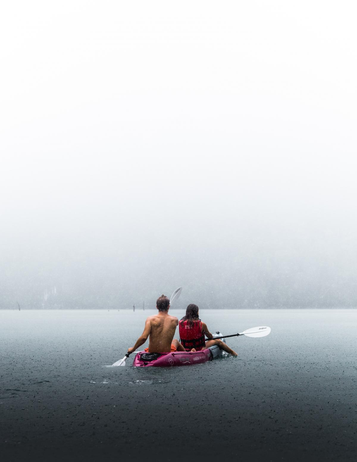 Kayak Paddle Boat