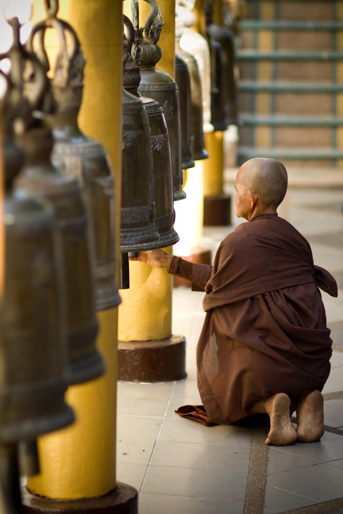 Man Monk Work