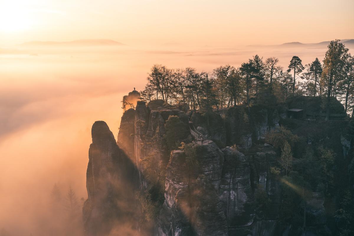 Canyon Cliff Landscape