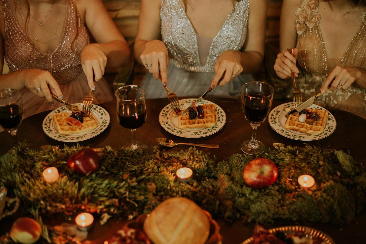 Banquet Dinner Meal #425016