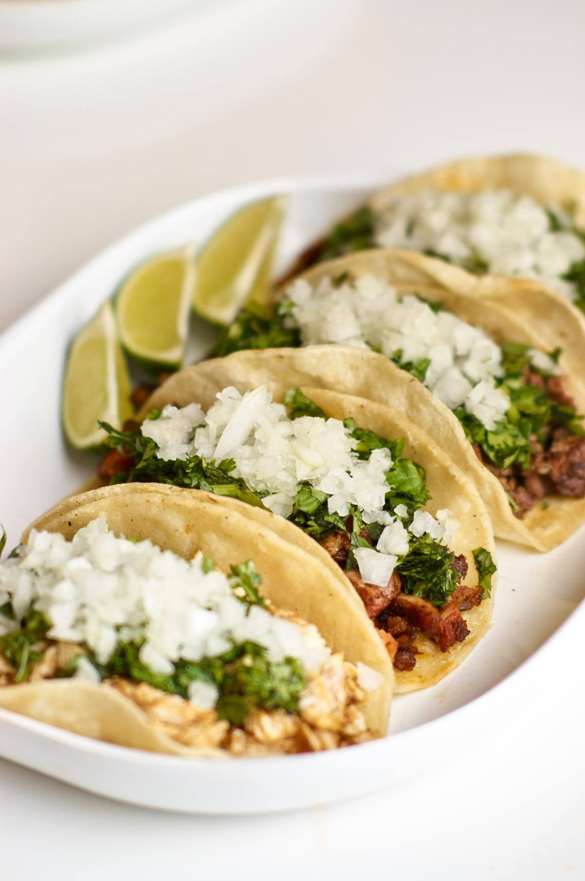 Mexican Tacos Plate Free Photo #425249