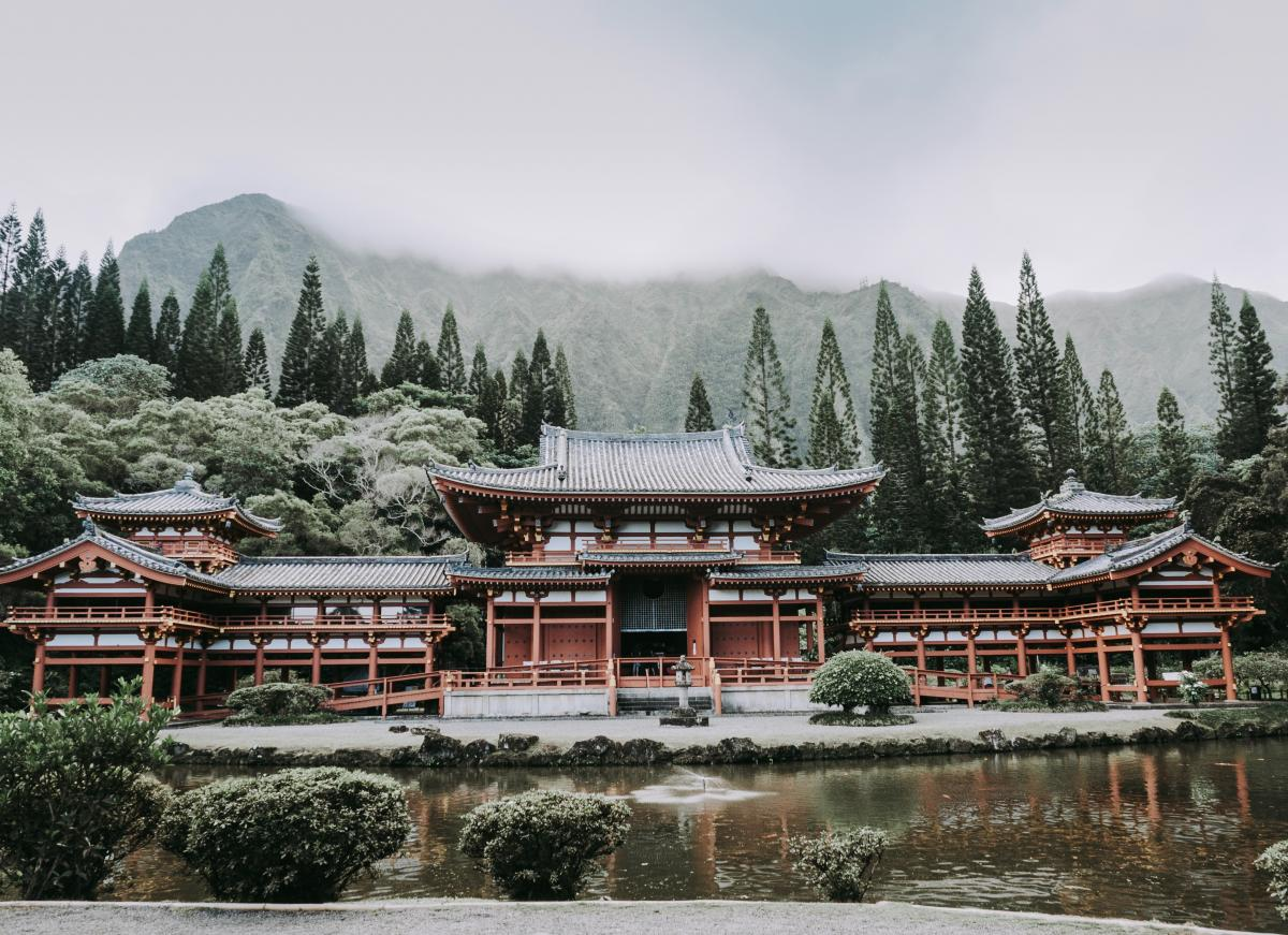 Temple Architecture Building