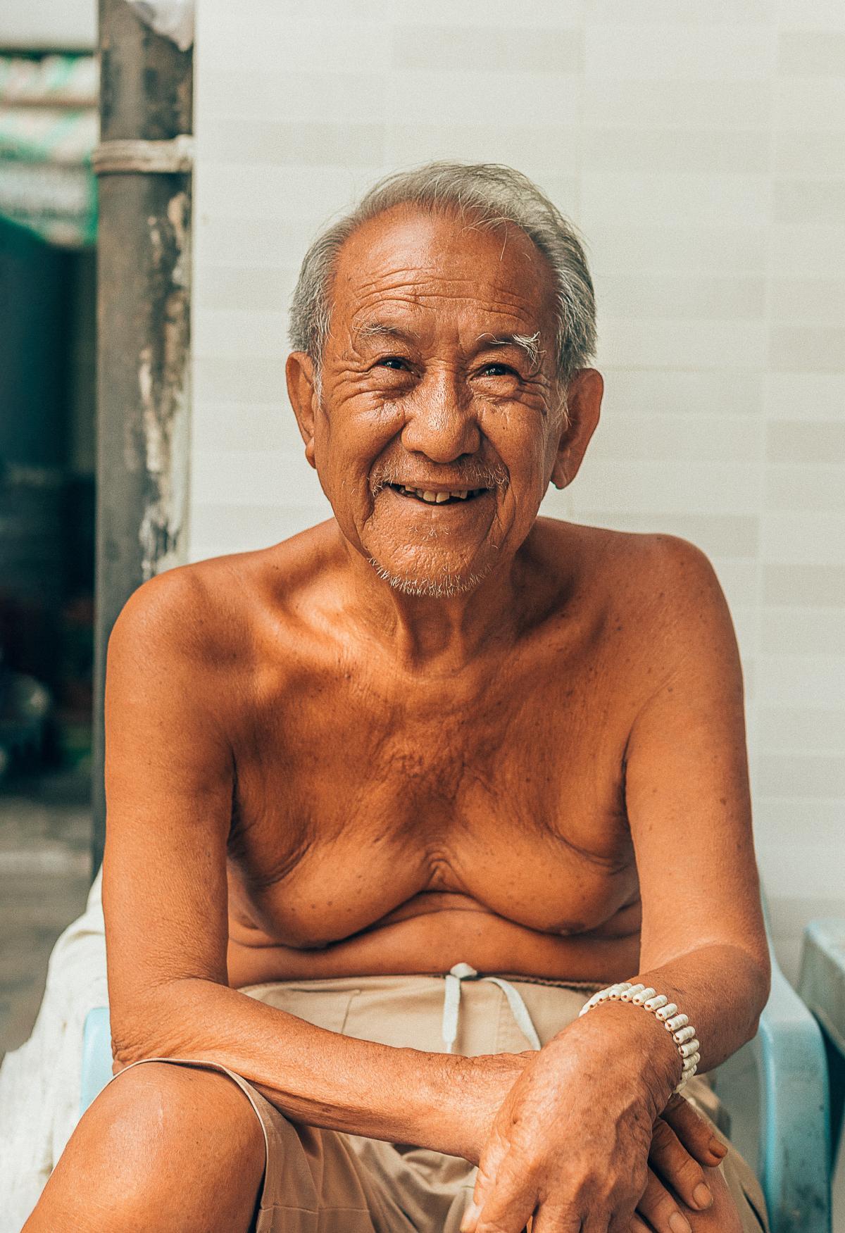 Grandfather Man Male