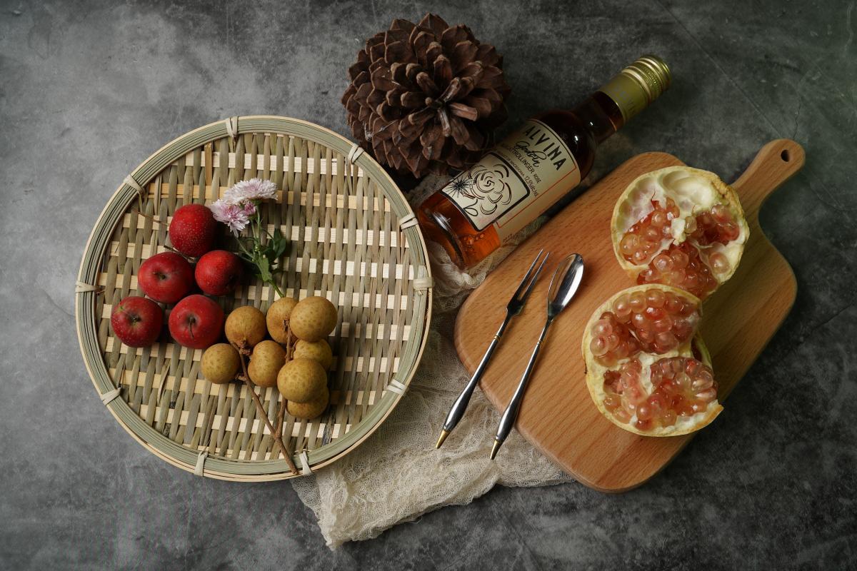 Basket Hamper Fruit #425720