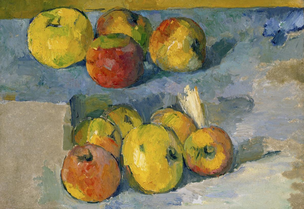 Apples (ca. 1878–1879) by Paul Cézanne. Original from The MET Museum.  #426008