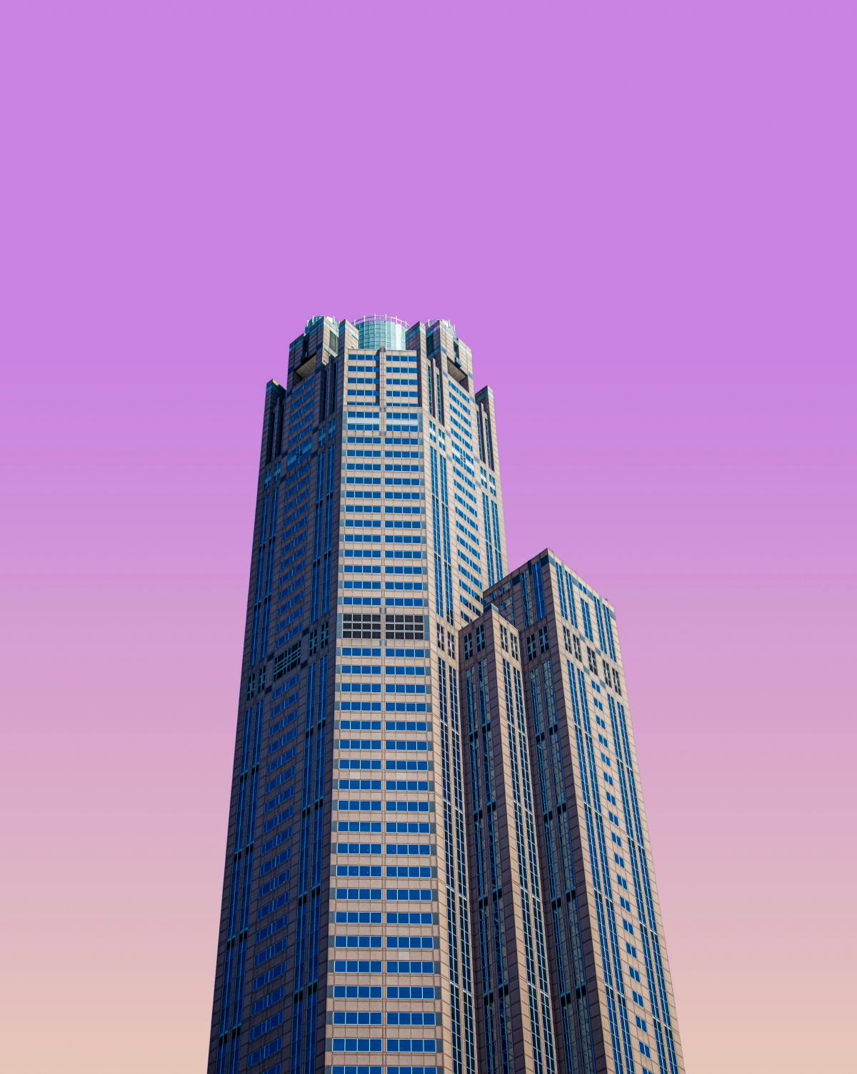 Skyscraper City Building