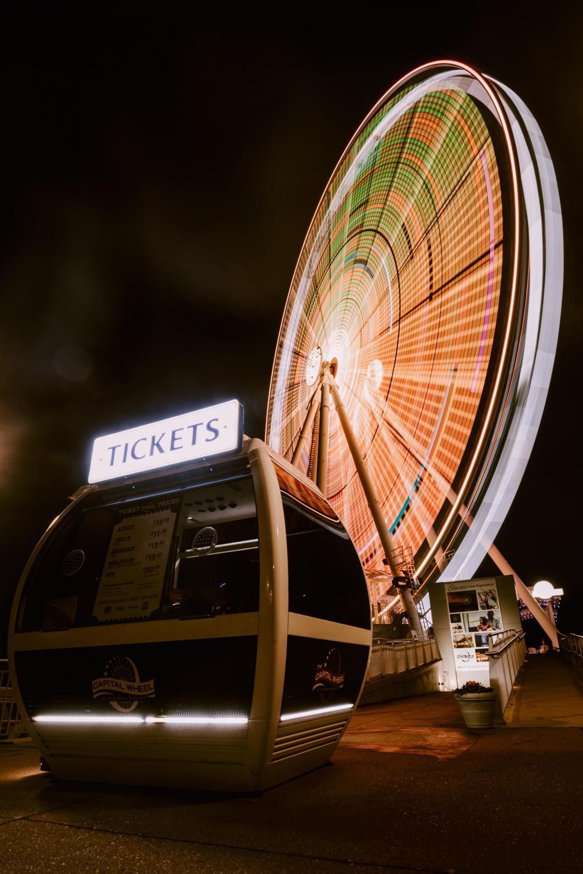 Ferris wheel Ride Mechanism #426310