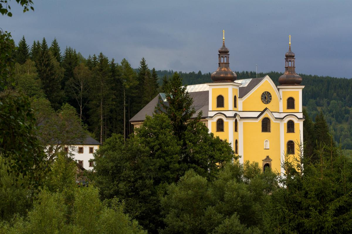 Church in Woods – Neratov - Free Image For Commercial Use #426506