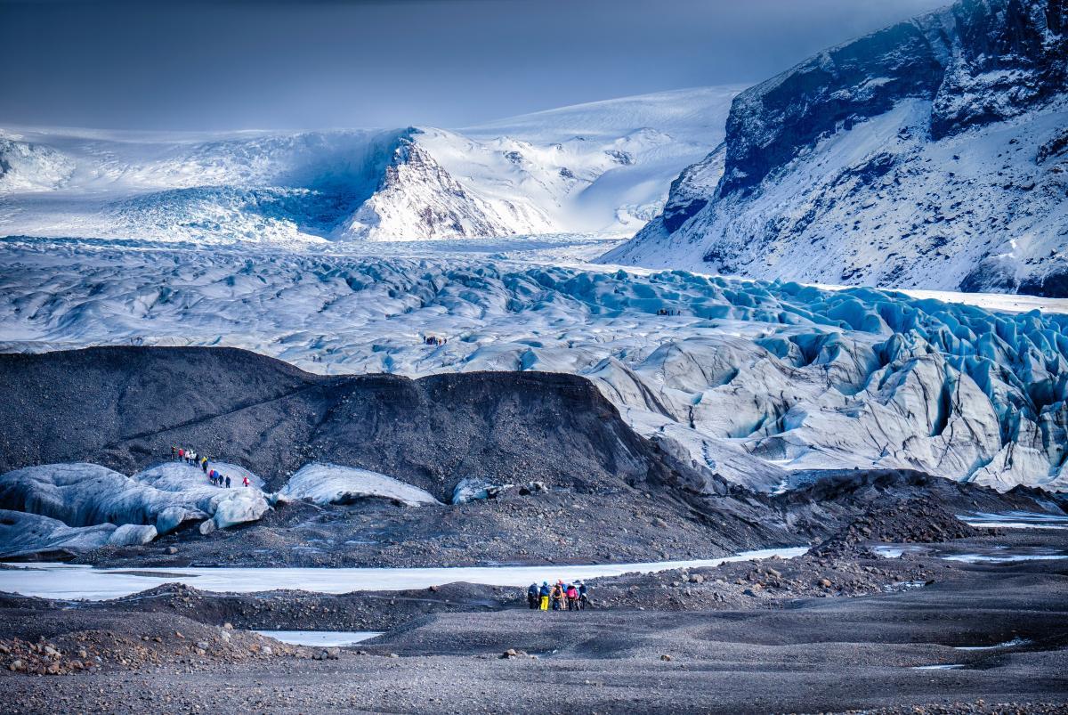 Glacier Snow Mountain
