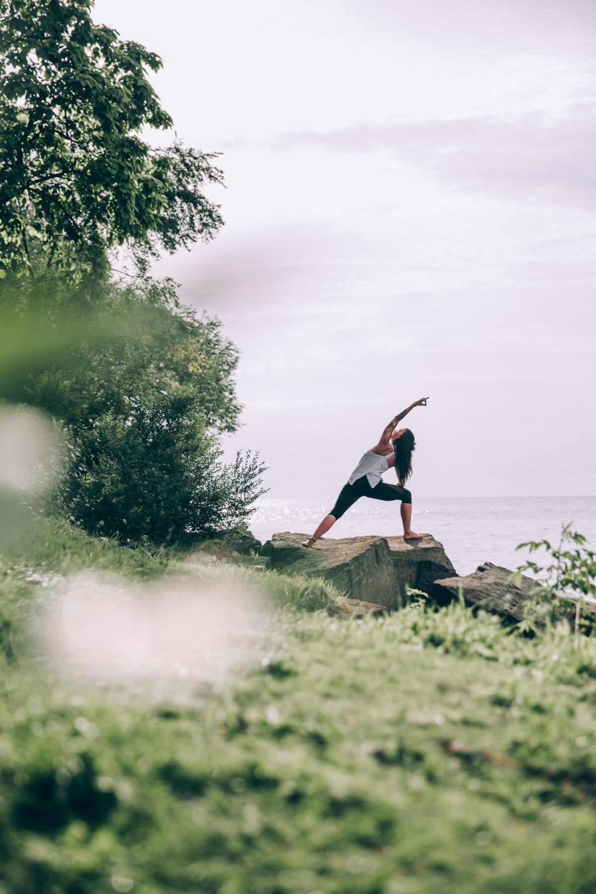 Woman Yoga Ocean Free Photo #426637