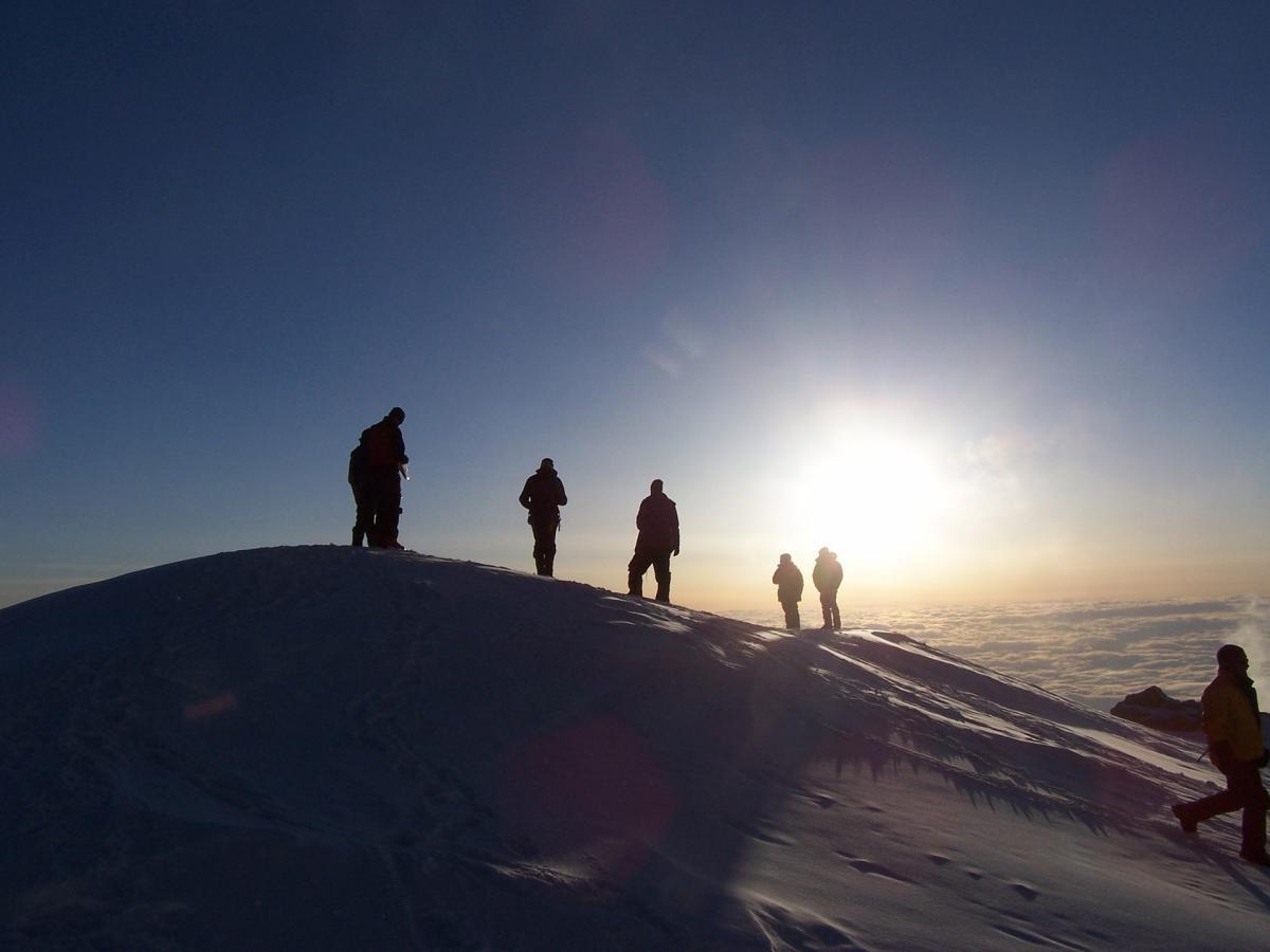 People Hiking on Mountain during Daytime #43240