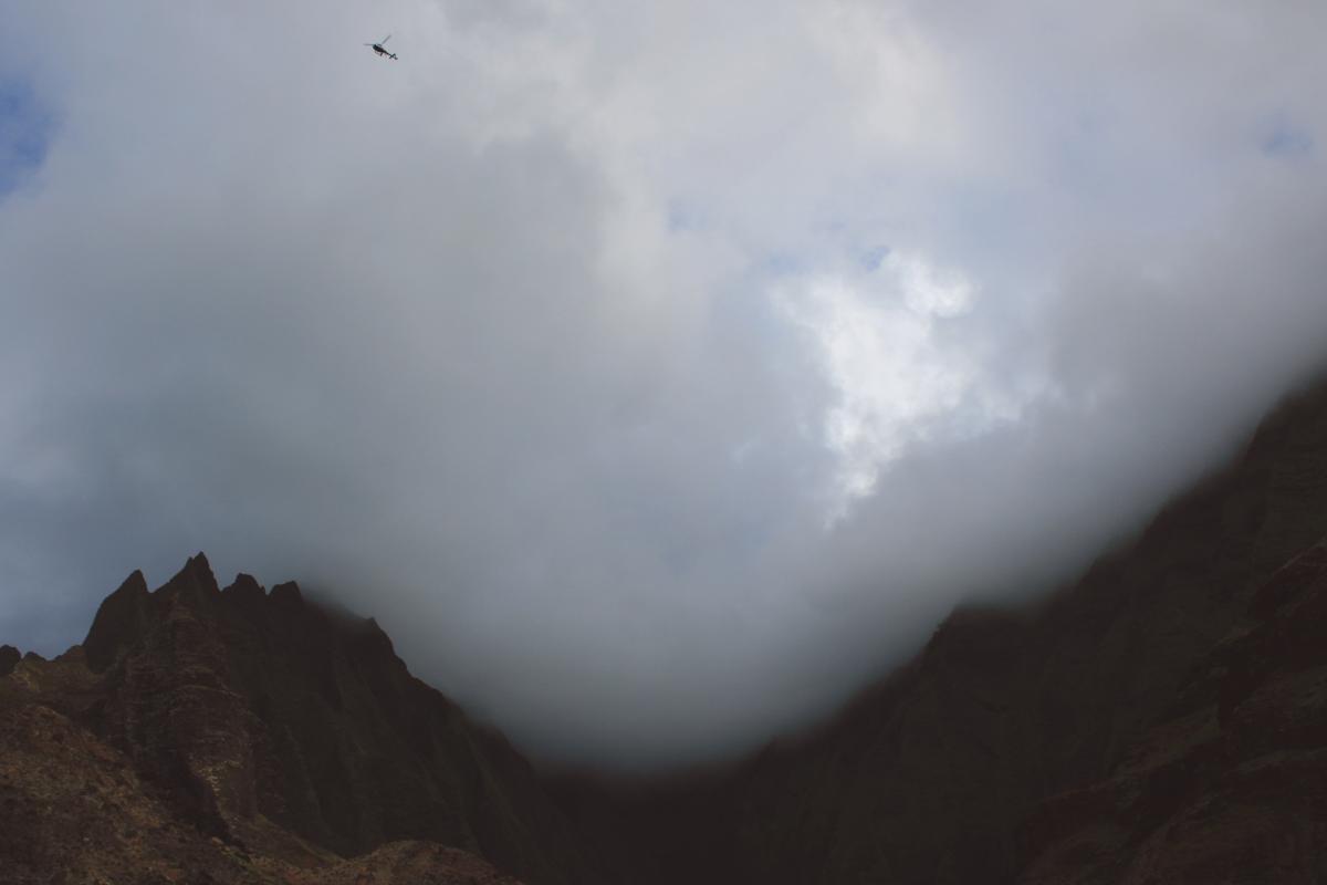 Mountain fog haze landscape #44403