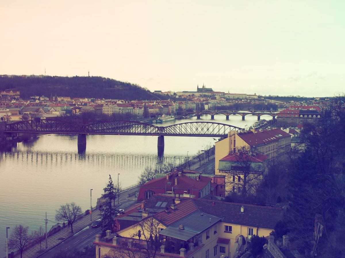 Bridge czech republic houses prague #51186