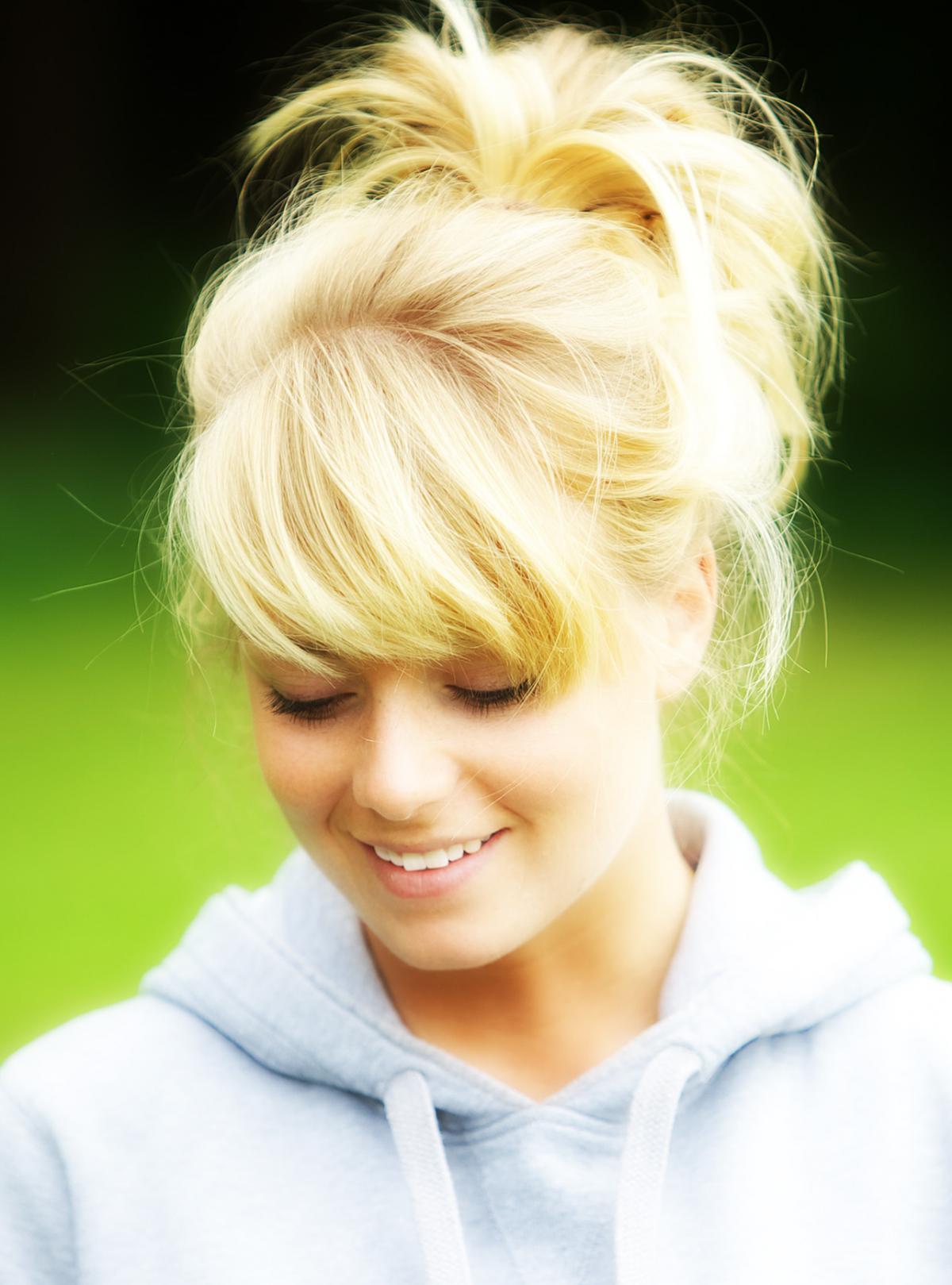 Blond Portrait Attractive #51634