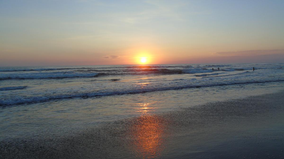 Beach playa puesta de sol softlight #52146