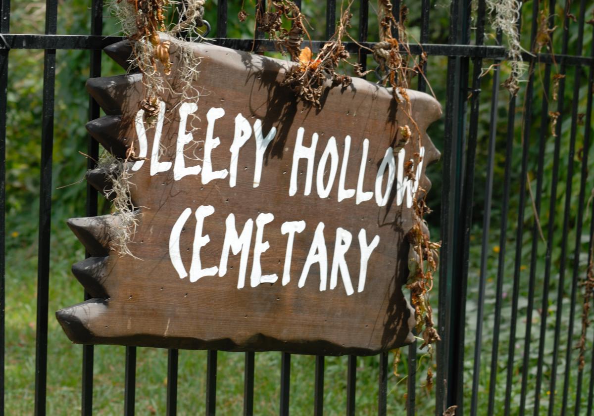 Classique de cimetière de fond américain #53341