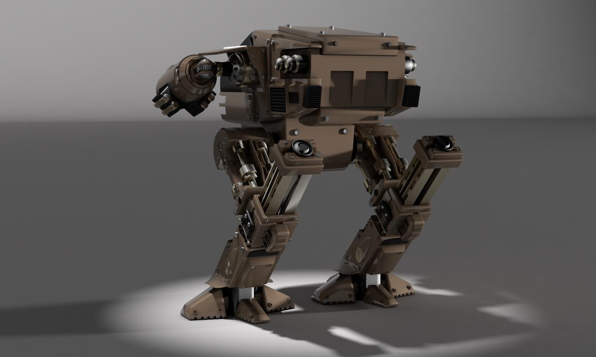 Robocop robocop ed209 robot
