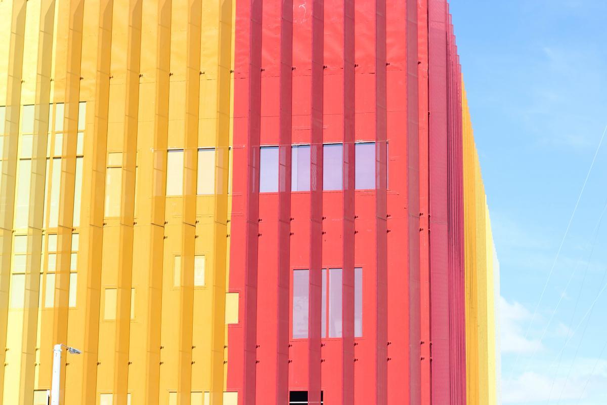 Architecture building contemporary design