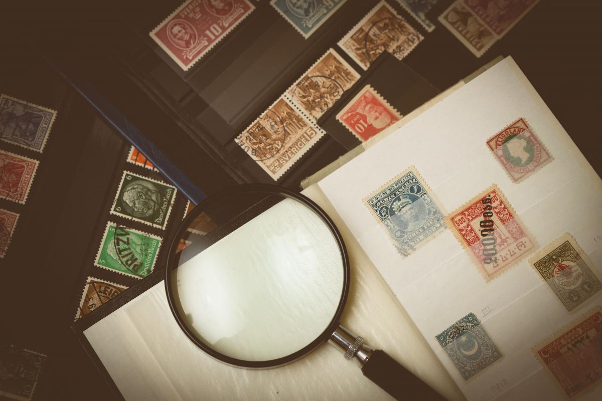 Stamp Collection #61330