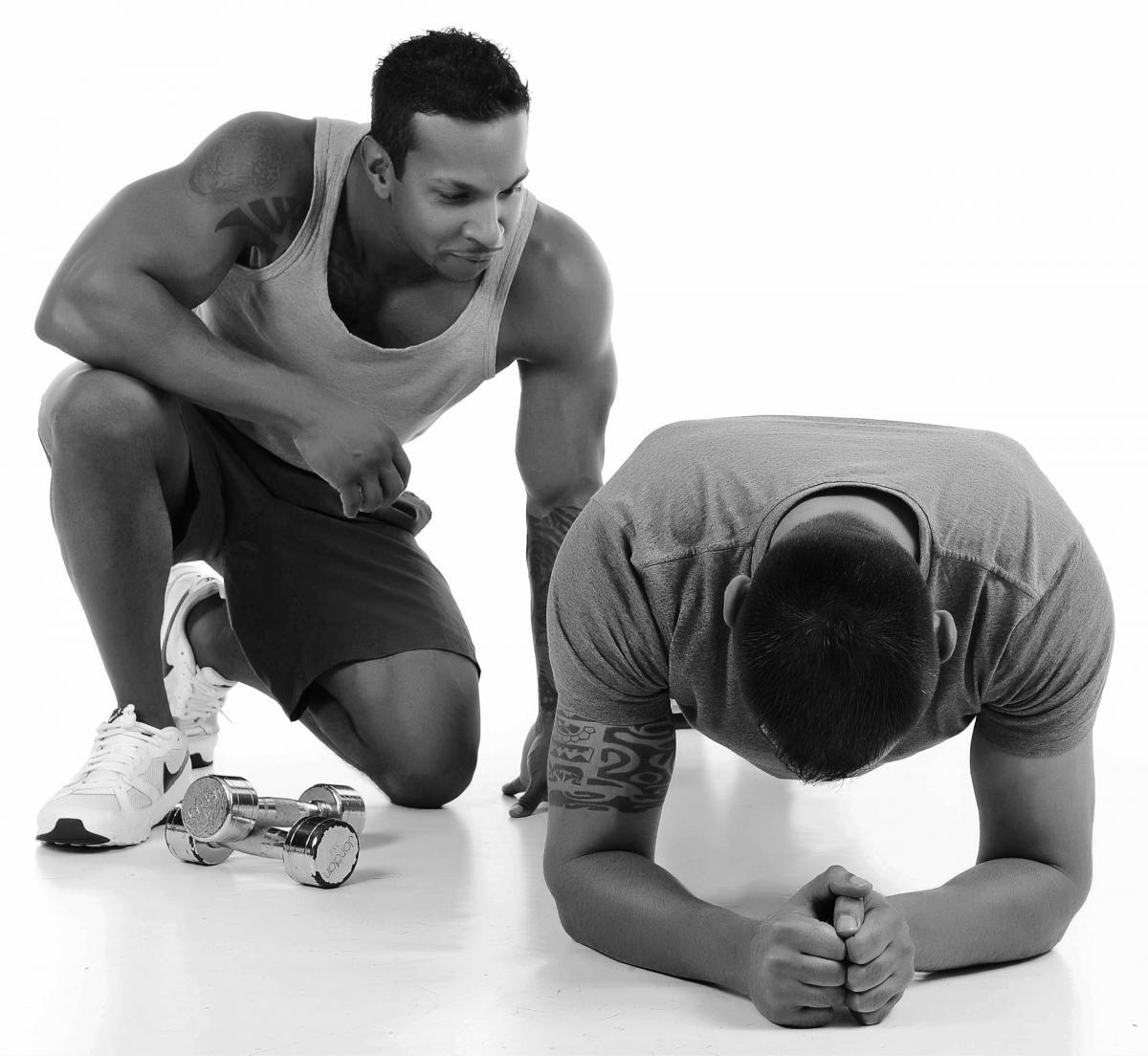Fitness gym training #68454