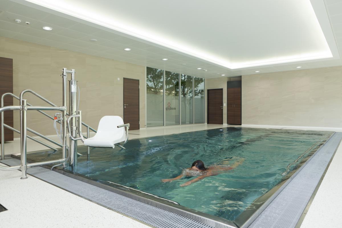 Indoor swimming pool swim swimmer swimming pool