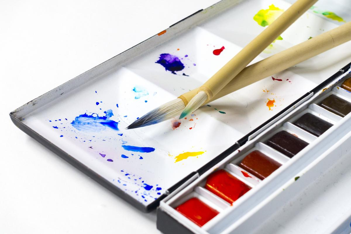 Art color paint painting tools #69730