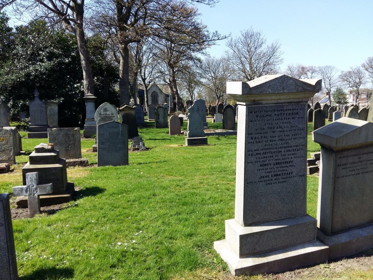 Bury cemetery churchyard death