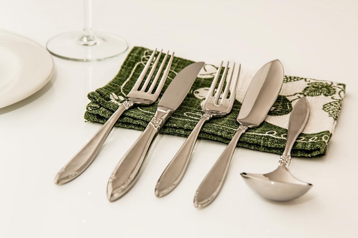 Celebration christmas cutlery dining