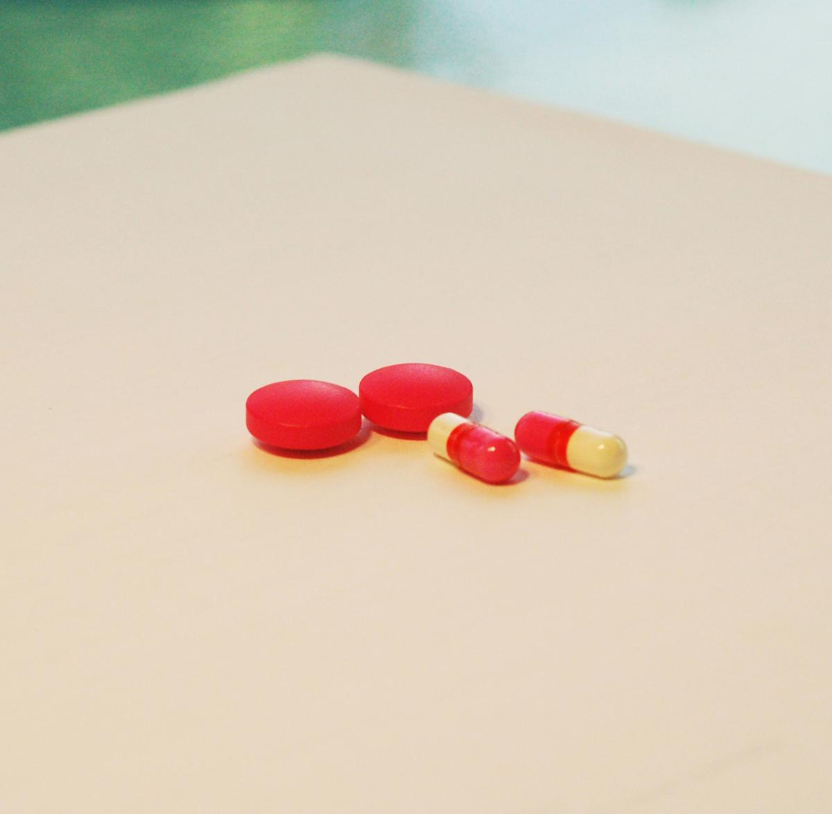 Addiction antibiotic bottle capsule