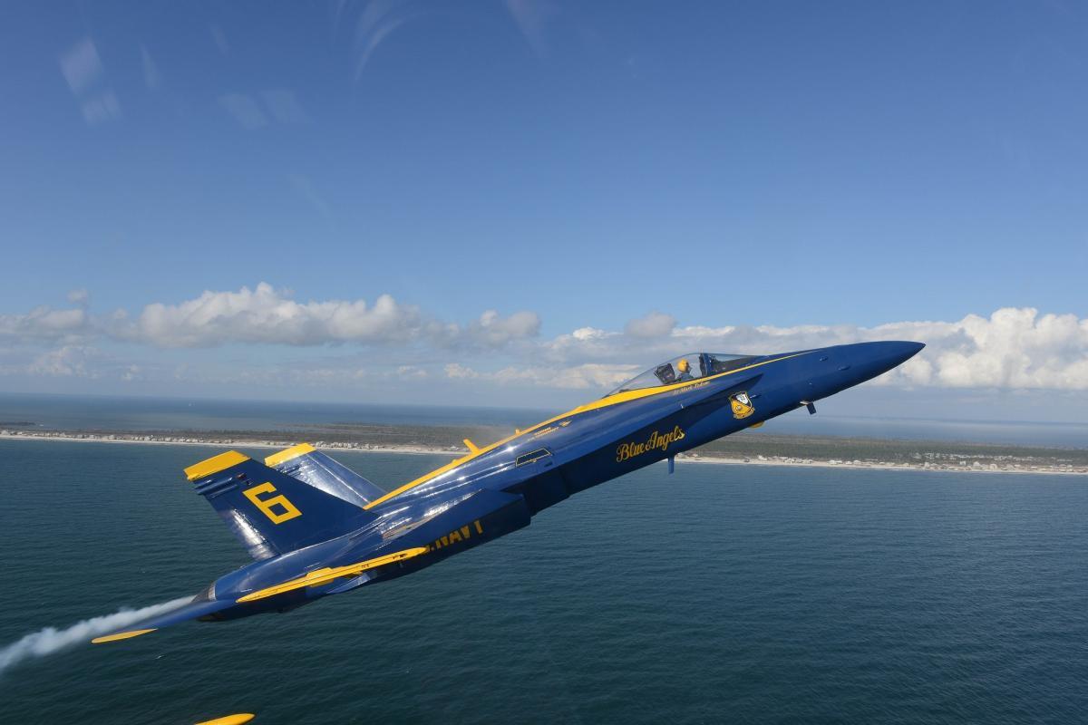 Aerobatics aircraft airplane blue angels #72235