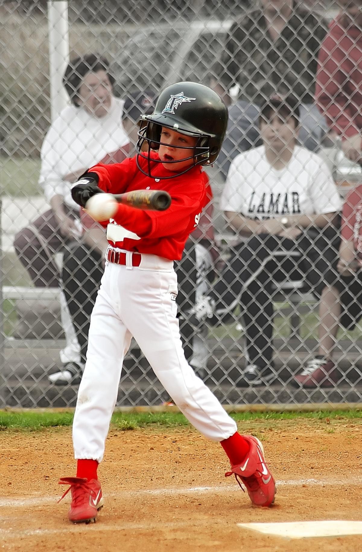 Action athlete athletic ballpark