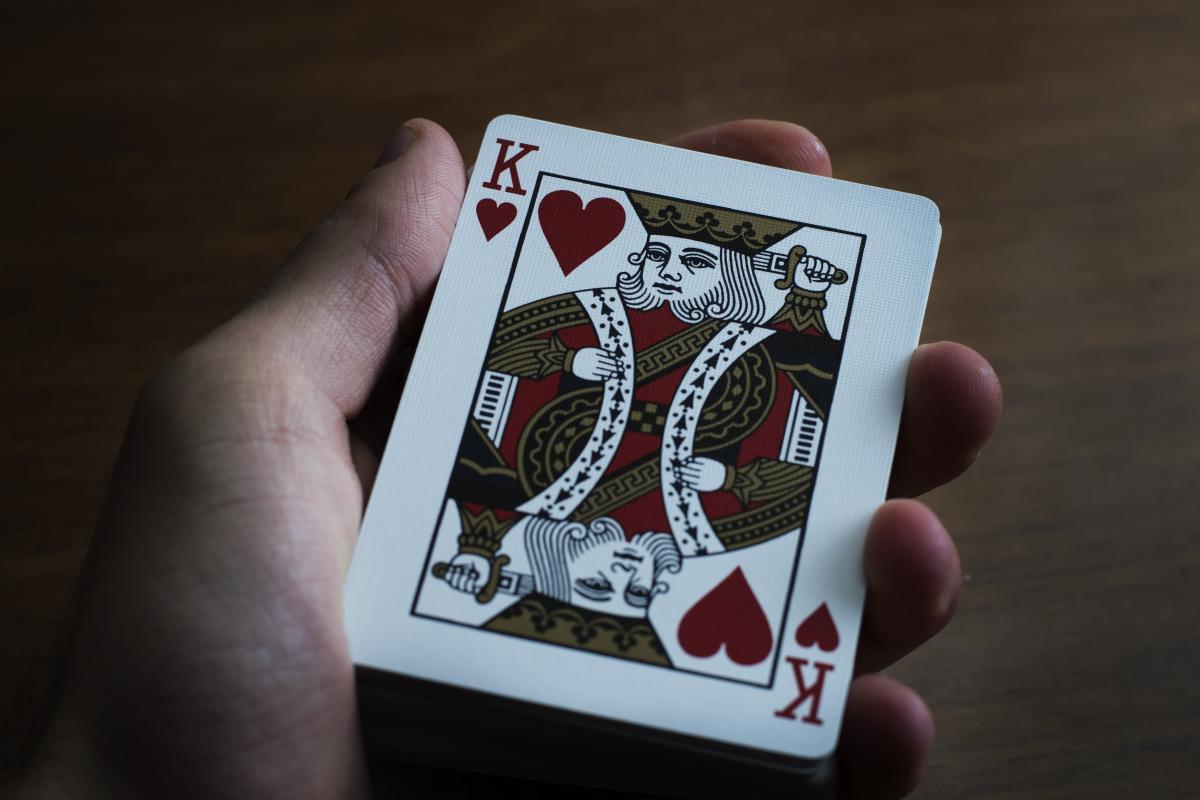 Deck desk game hand #72888
