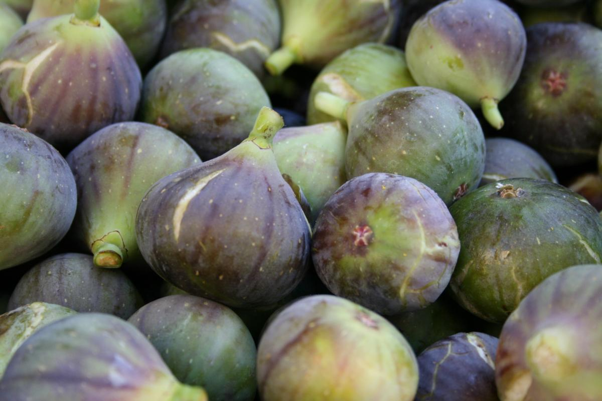 Farmers market figs food fresh #74168