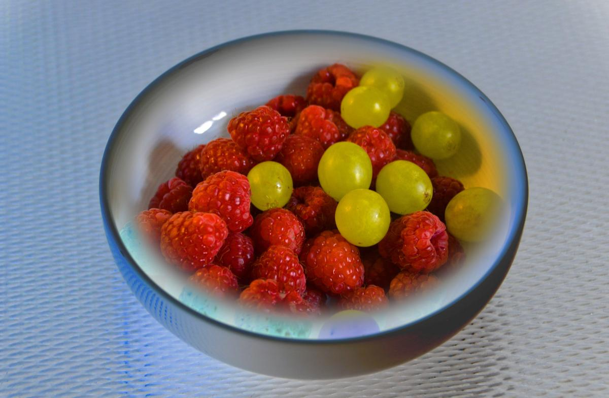 Cold cold dish edited fruit