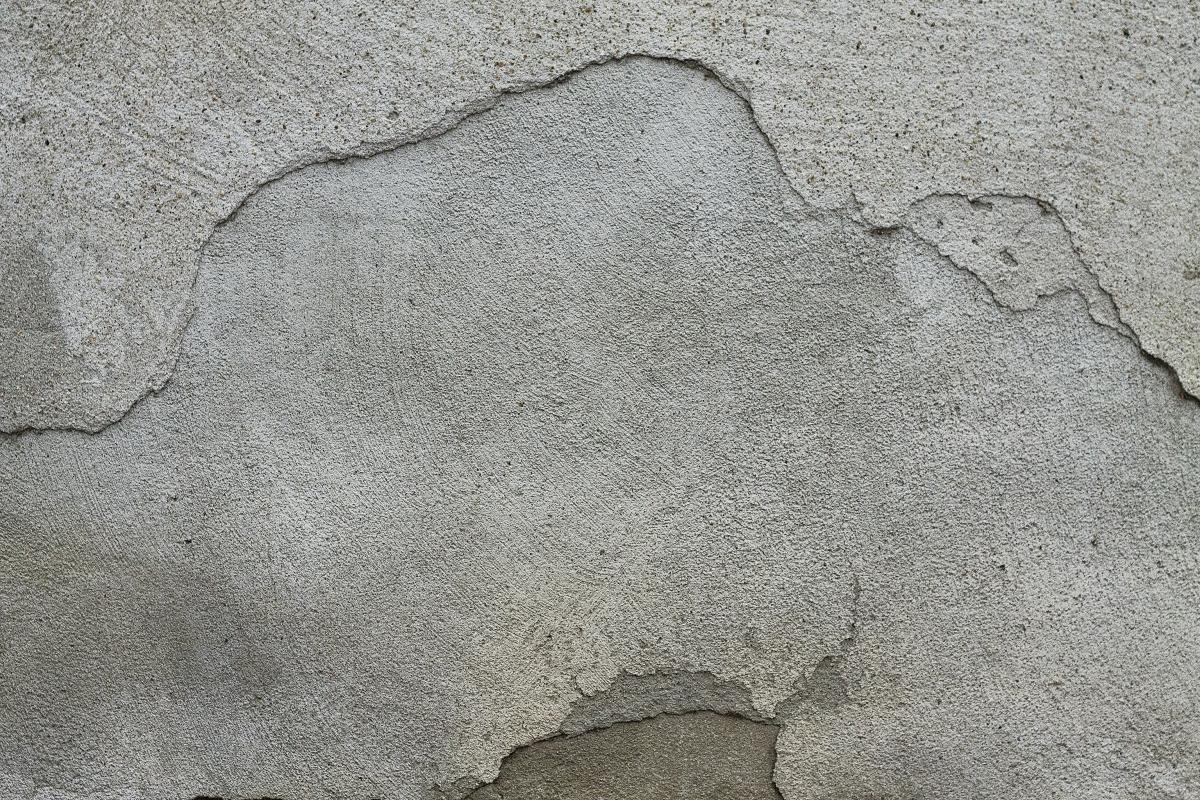 Background cracked plaster texture