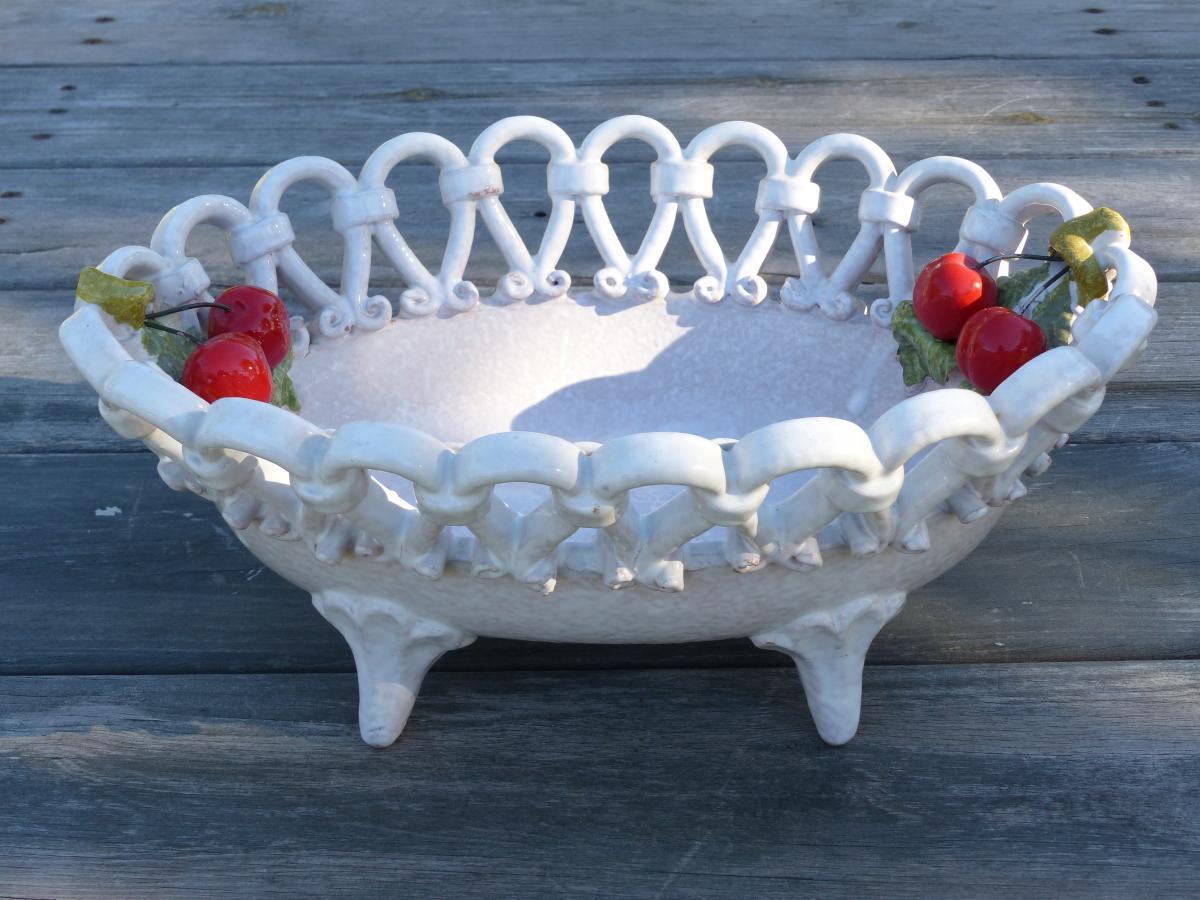 Bowl ceramics cherry colors #77021