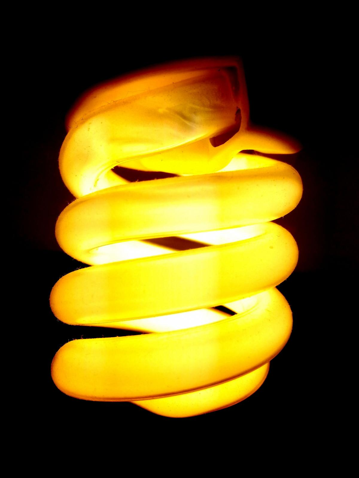 Ampoule lumineuse créative sombre #77112