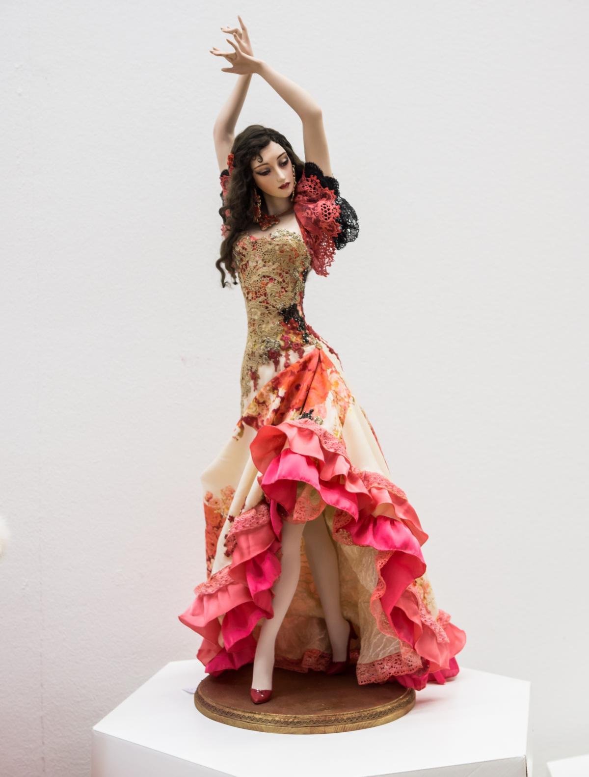 Author s dolls baby doll dancer dancing