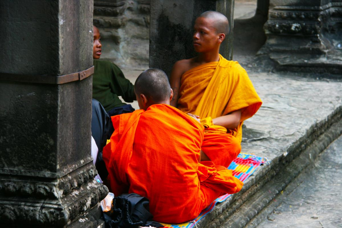 Asia boys buddha buddhism