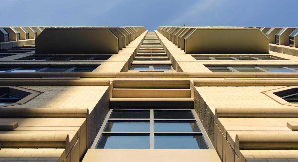 Architecture building business center