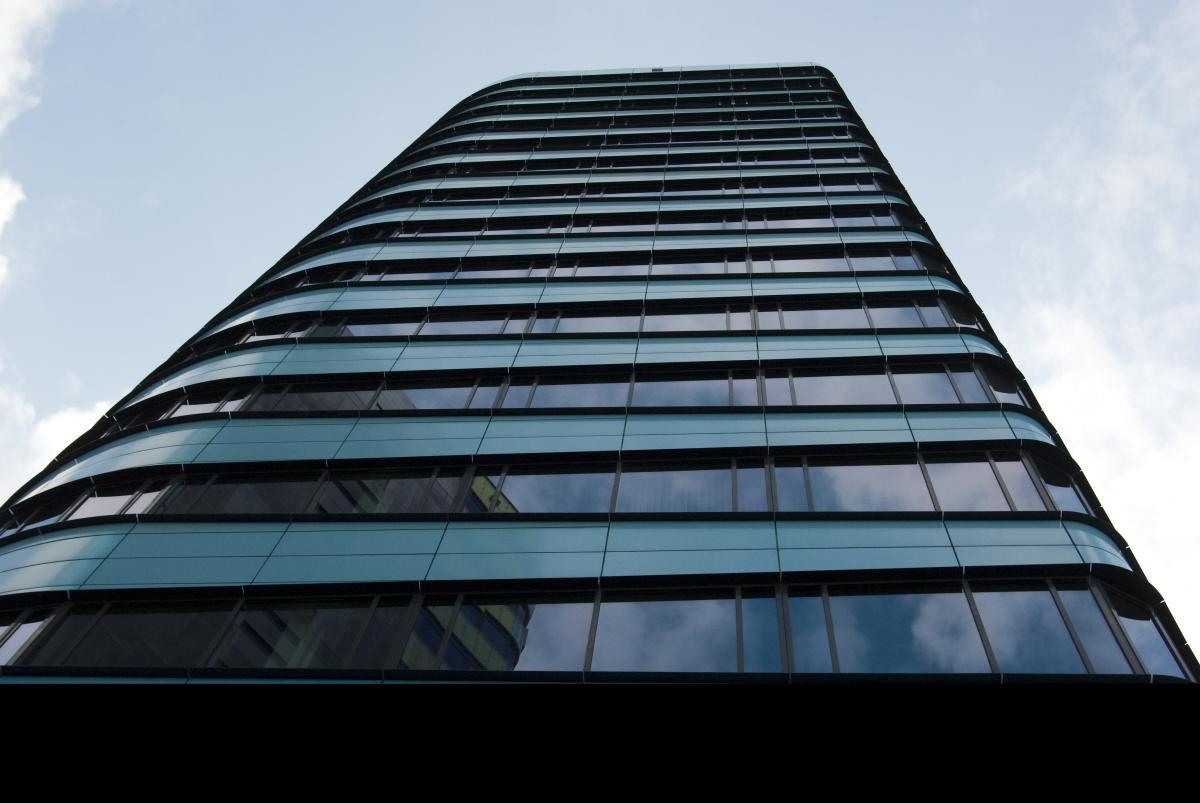 Architecture blue building business #81029