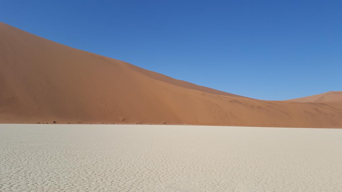 Desert dune enormous landscape