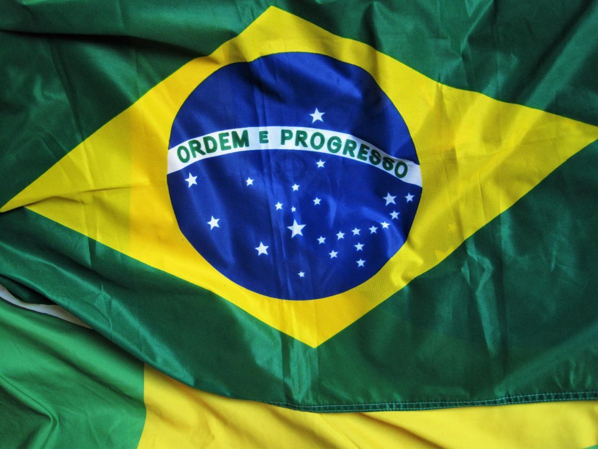 Brazil brazilian flag decoration flag #81848