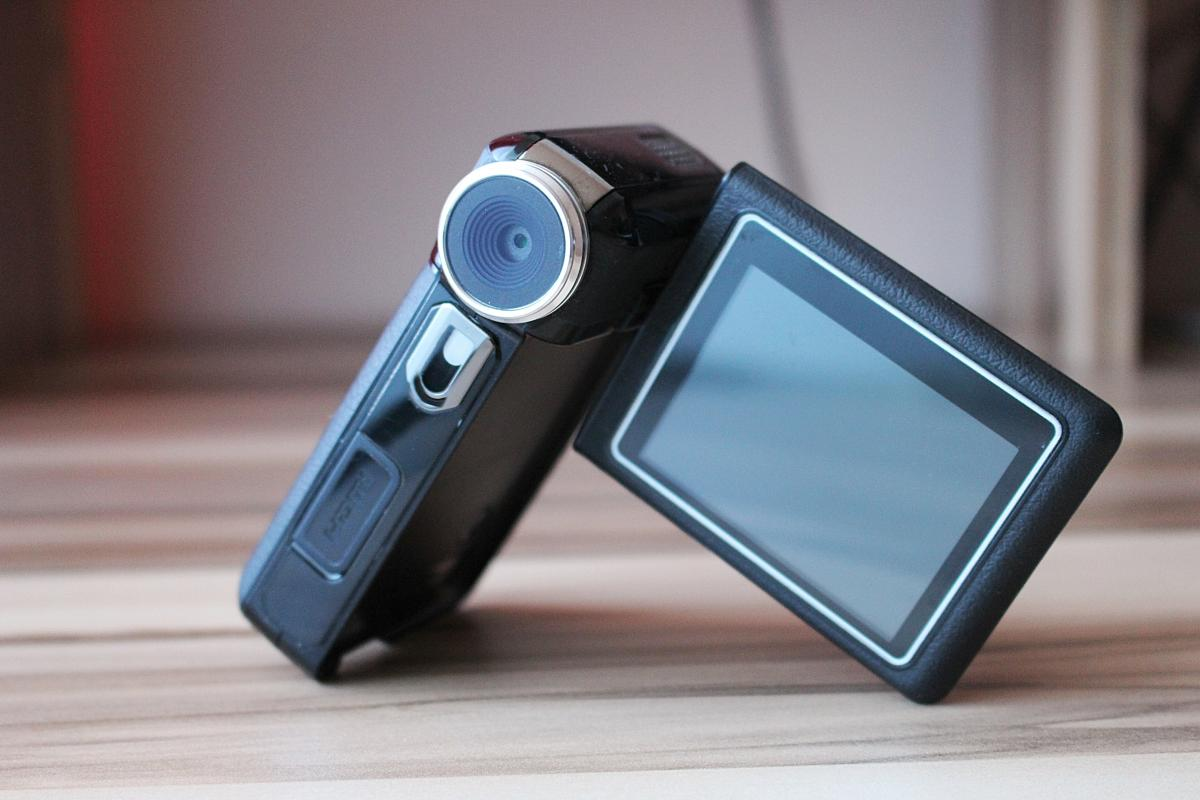 Camera handcam multimedia video camera