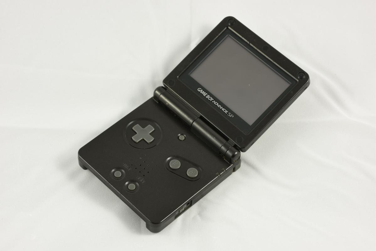 Black console entertainment game system