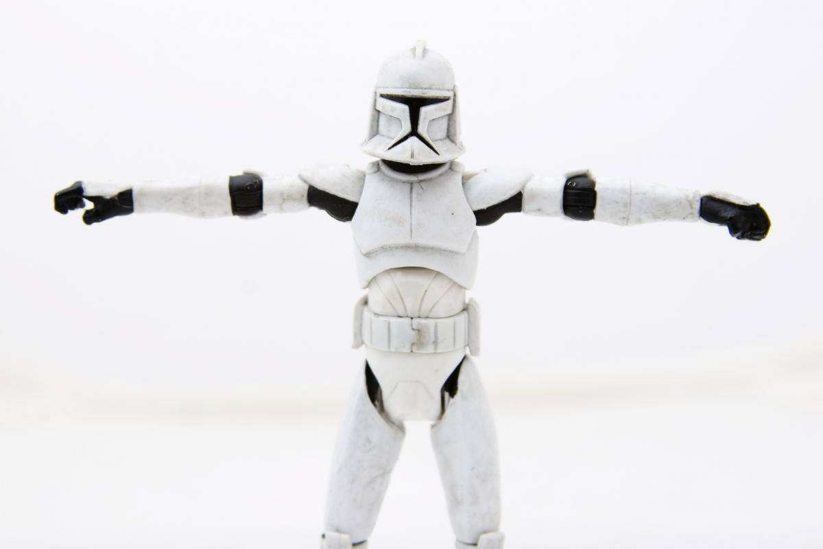 Soldier star star trooper star wars