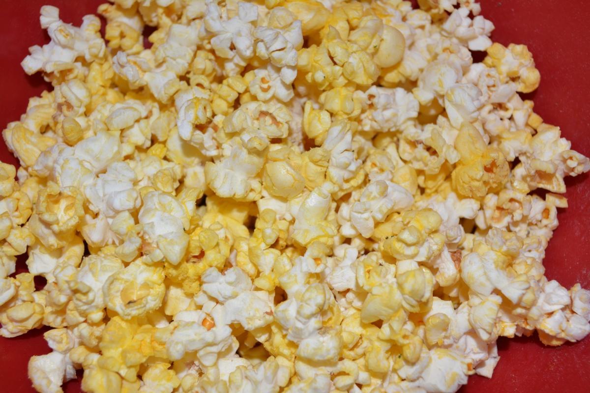 Buttered cinema corn food #83310