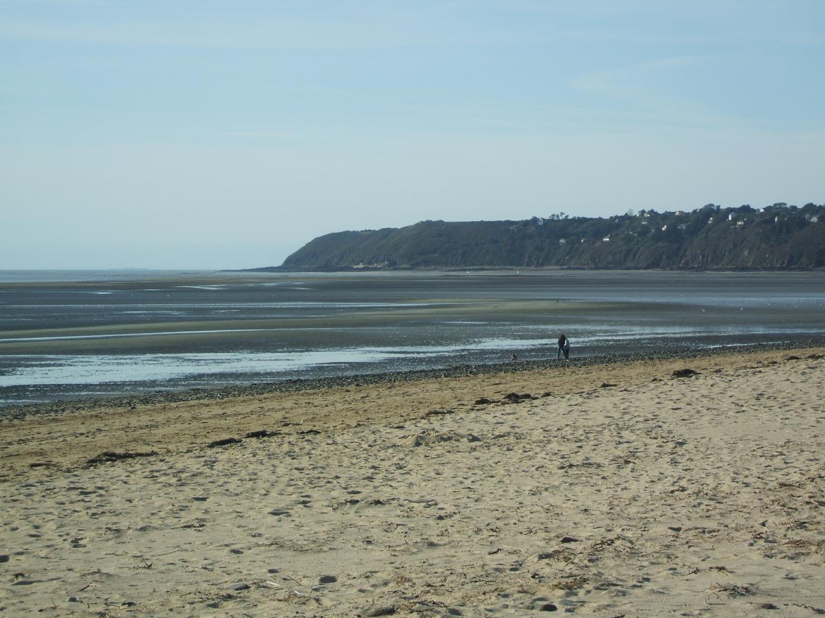 Playa acantilados mercado normandía #84548