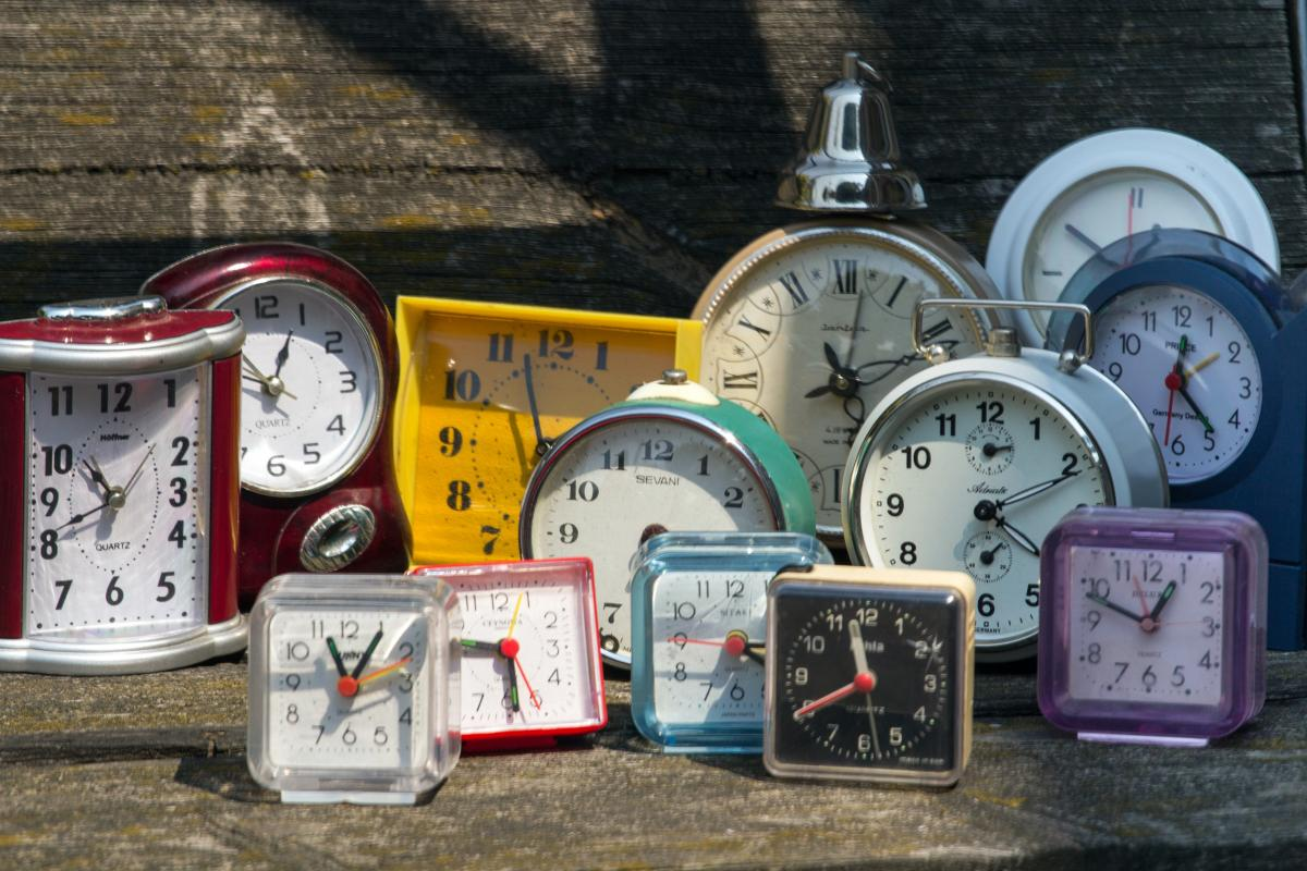 Alarm clock collection watches #84657