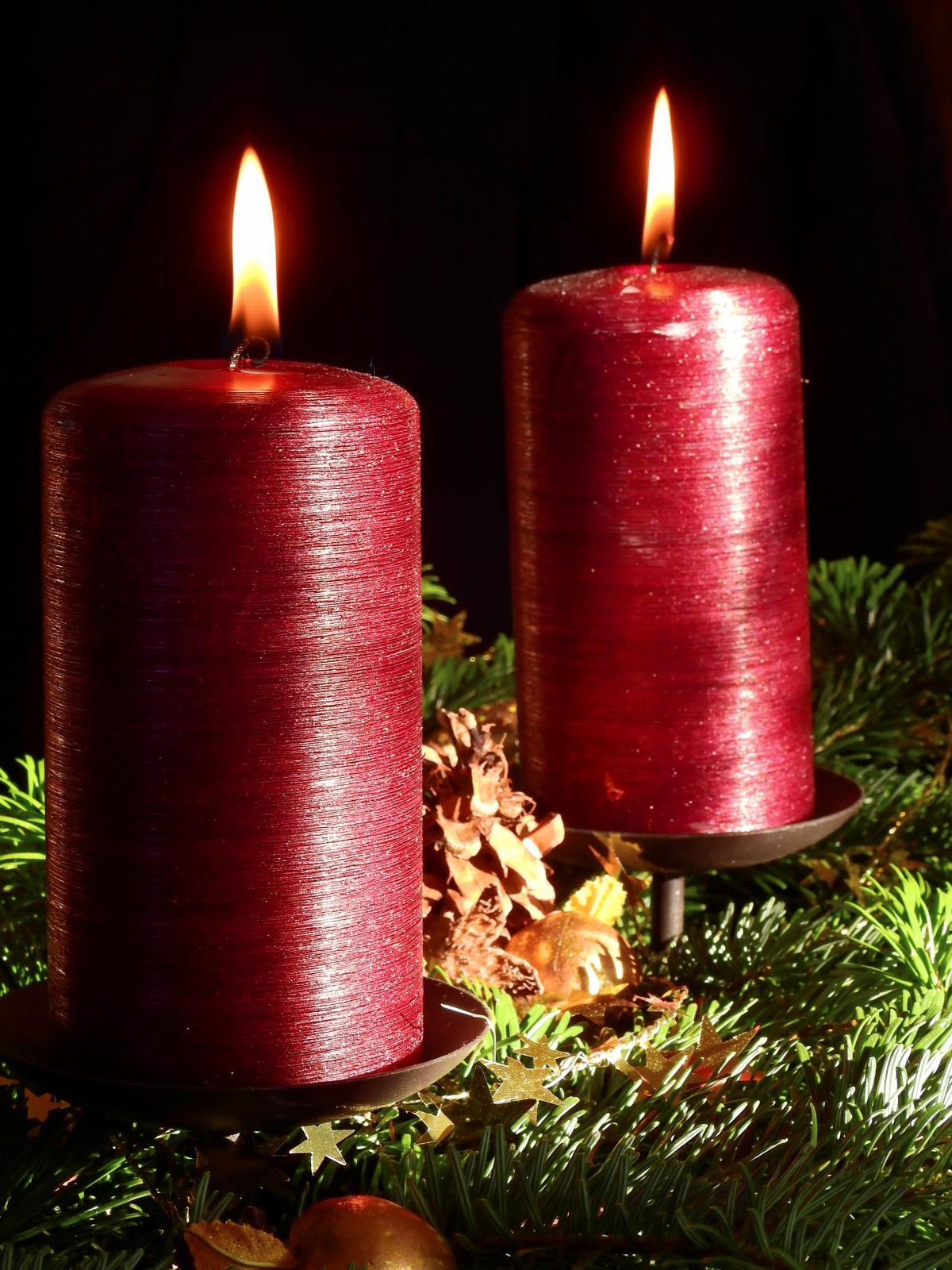 Advent adwentkranz adwentskranz candles